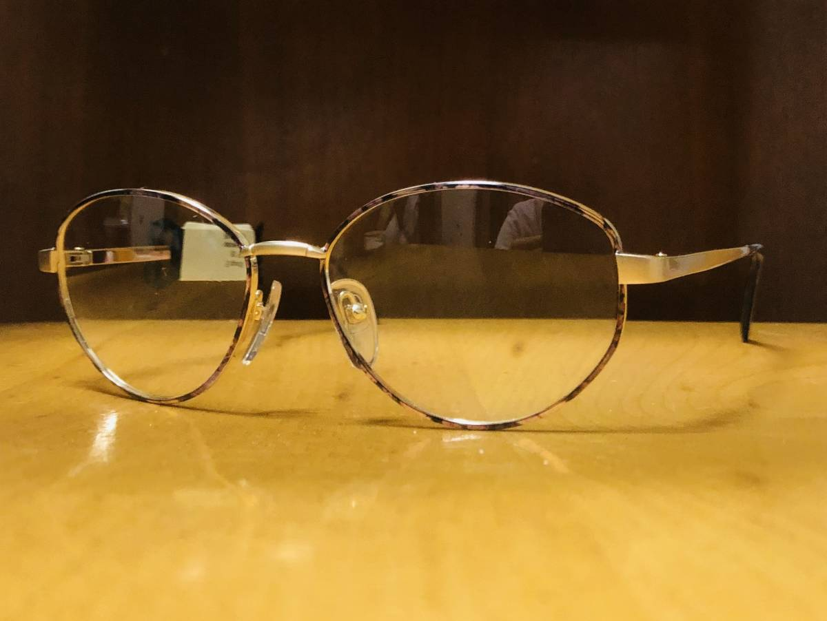 【1980年代/新品】 宝石柄 ピンク紫 アメリカンオプティカル AO American Optical メガネ 米国ブランド ビンテージ / ヴィンテージ_画像3