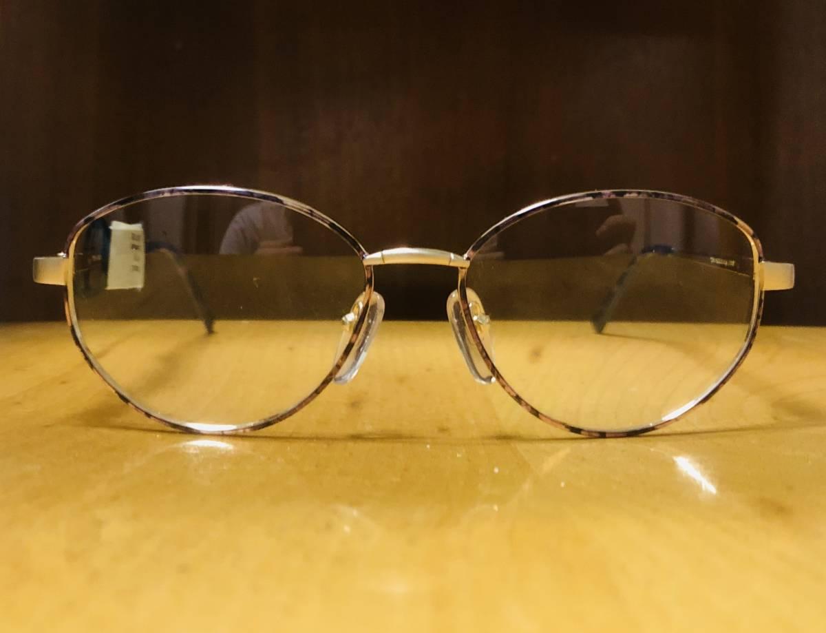 【1980年代/新品】 宝石柄 ピンク紫 アメリカンオプティカル AO American Optical メガネ 米国ブランド ビンテージ / ヴィンテージ_画像2