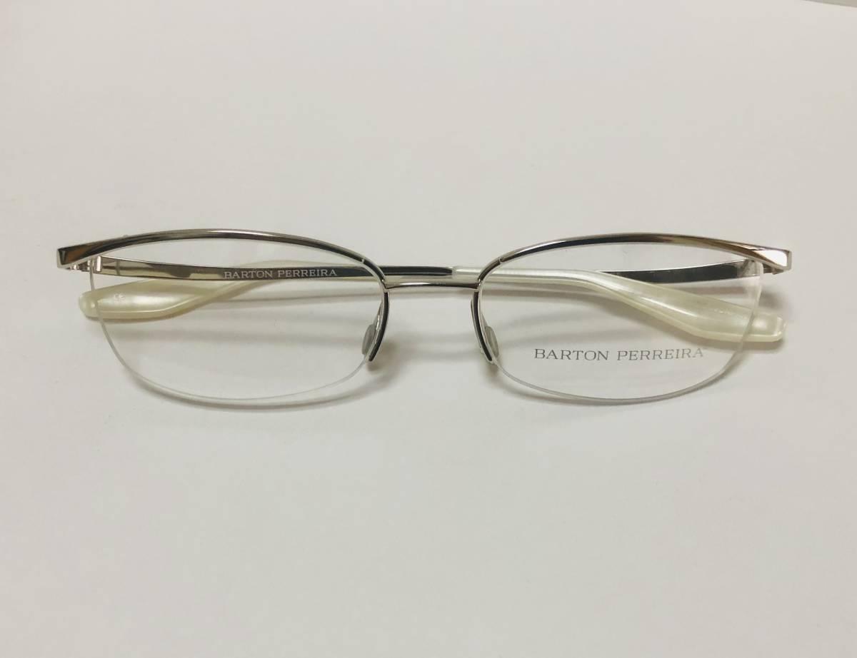 定価85800円 新品) 上流階級 バートンペレイラ ミア Barton Perreira 極上品 純正メガネ 付属品付き 日本製 米国ブランド_画像9