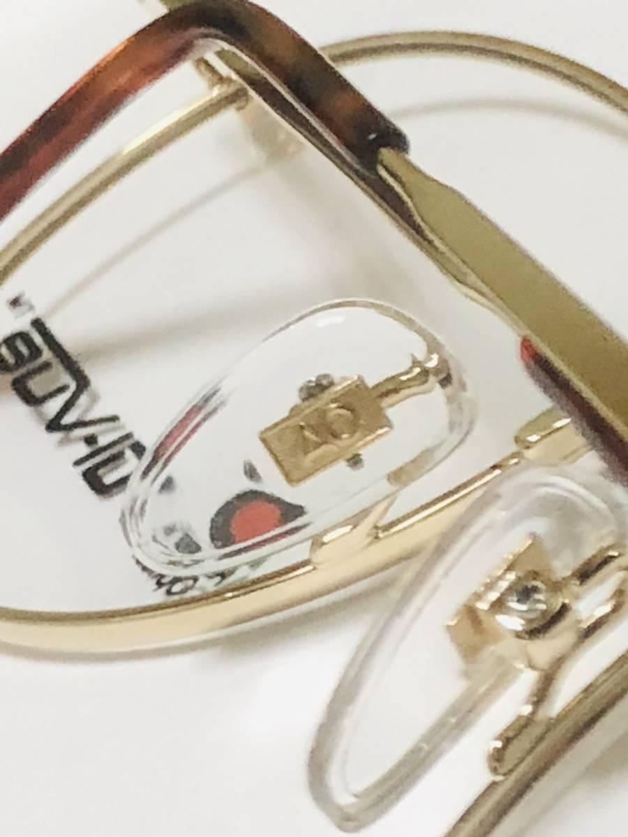 新品箱付】 20K金 アメリカンオプティカル 80年代 AO American Optical メガネ 米国ブランド_画像7