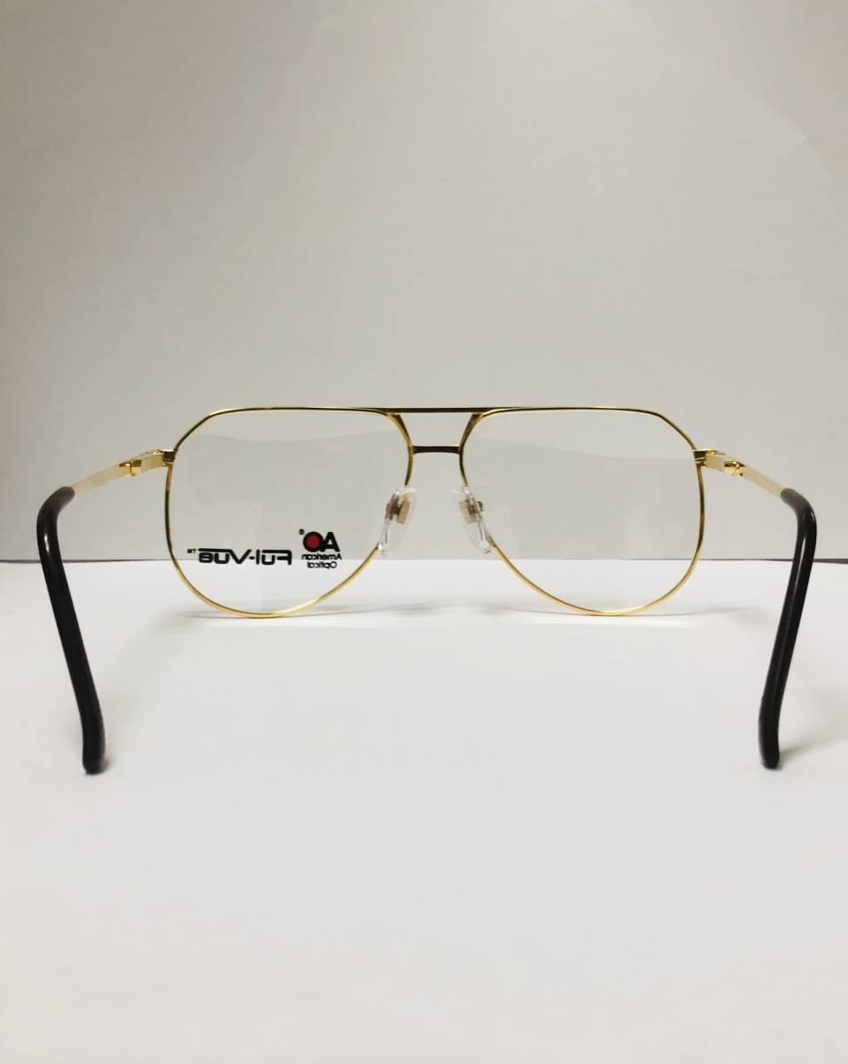 新品箱付】20K金 アメリカンオプティカル 1980年代 AO American Optical Ful-Vue 米国メガネ (参考: Rodenstock好きにオススメ_画像7
