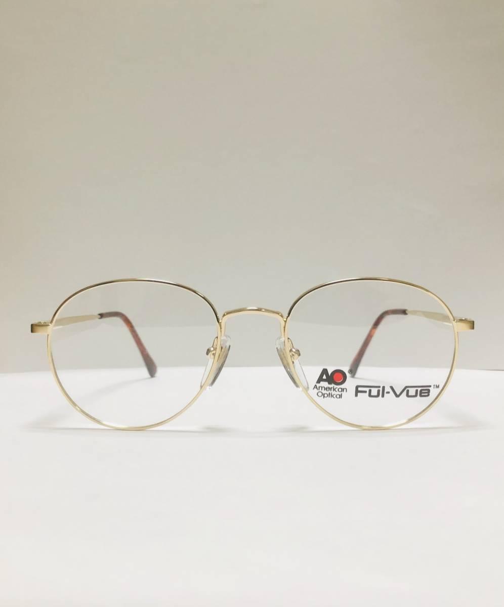 新品箱付】 20K金 アメリカンオプティカル 80年代 AO American Optical メガネ 米国ブランド_画像1