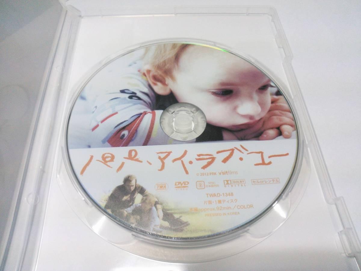 DVD パパ、アイ・ラブ・ユー 送料100円~ マーク・ウェバー アマンダ・セイフライド_画像3