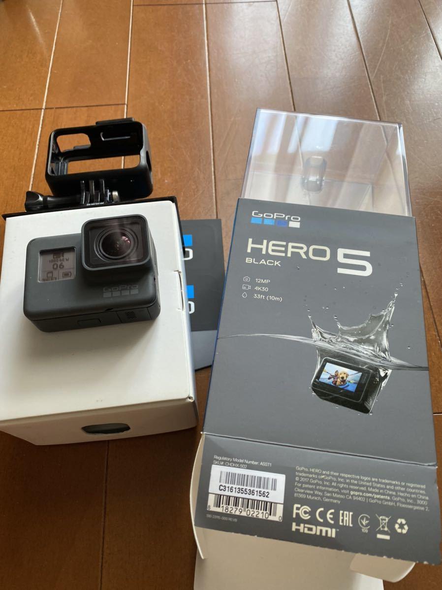 GoPro HERO5 Black ゴープロ 美品