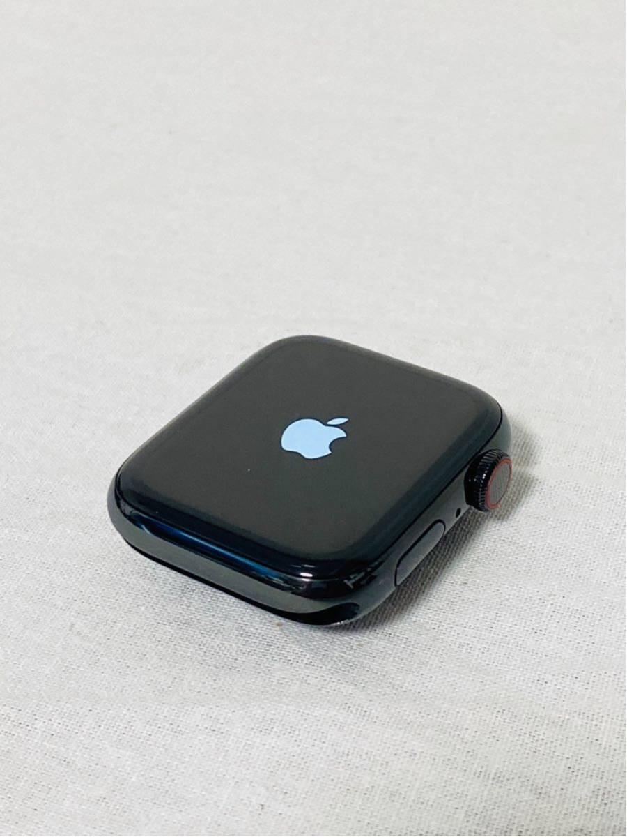 【美品】Apple Watch アップルウォッチ Series 4 GPS+Cellularモデル 44mm MTX32J/A スペースブラックミラネーゼループ i199_画像4