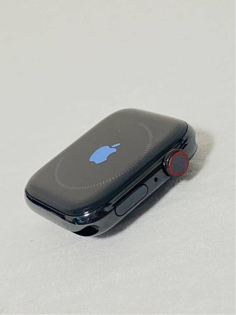 【美品】Apple Watch アップルウォッチ Series 4 GPS+Cellularモデル 44mm MTX32J/A スペースブラックミラネーゼループ i199_画像5