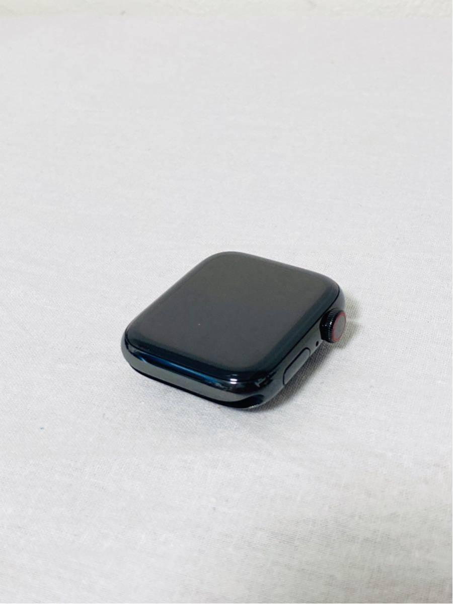 【美品】Apple Watch アップルウォッチ Series 4 GPS+Cellularモデル 44mm MTX32J/A スペースブラックミラネーゼループ i199_画像3