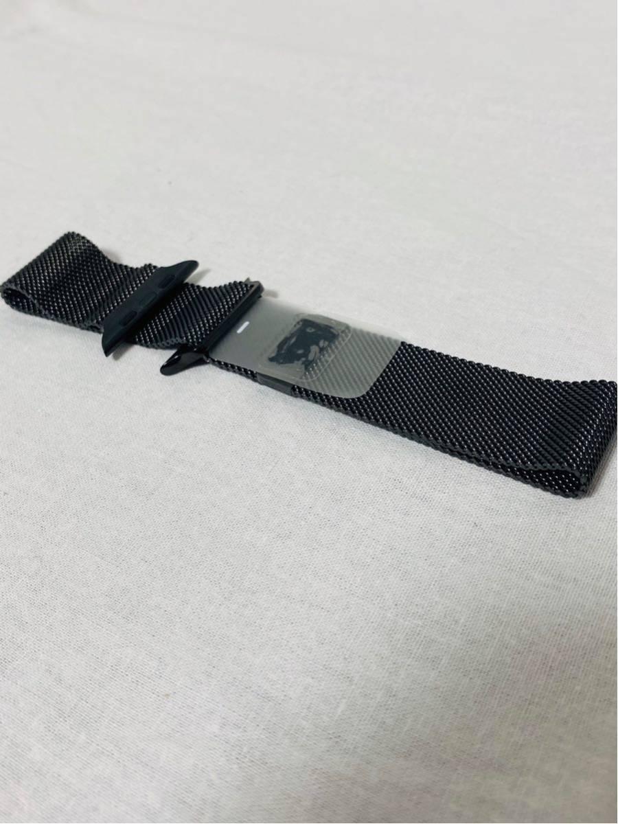 【美品】Apple Watch アップルウォッチ Series 4 GPS+Cellularモデル 44mm MTX32J/A スペースブラックミラネーゼループ i199_画像8