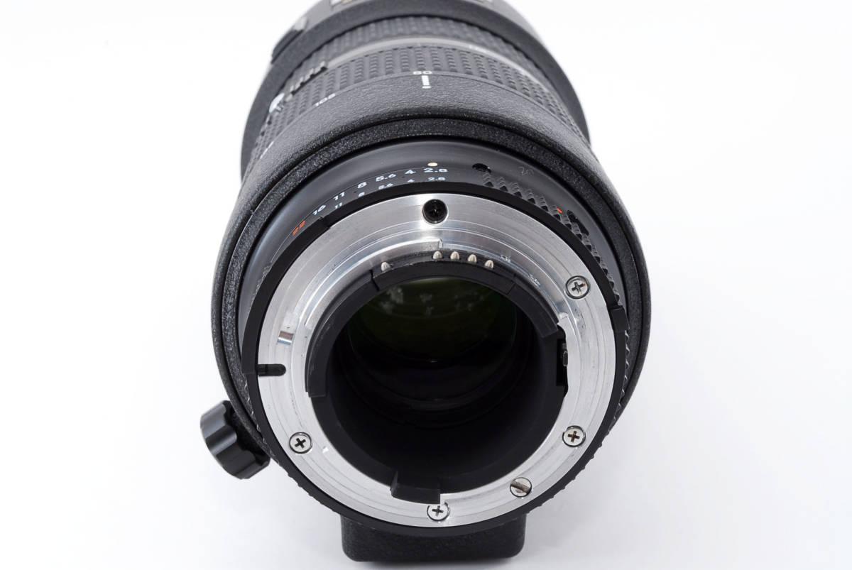 ☆明るい大人気ズーム☆ Nikon AI AF ZOOM NIKKOR 80-200mm F2.8D ED マークIII ニコン オートフォーカス ズーム レンズ LENS F2.8 D MK3_画像6
