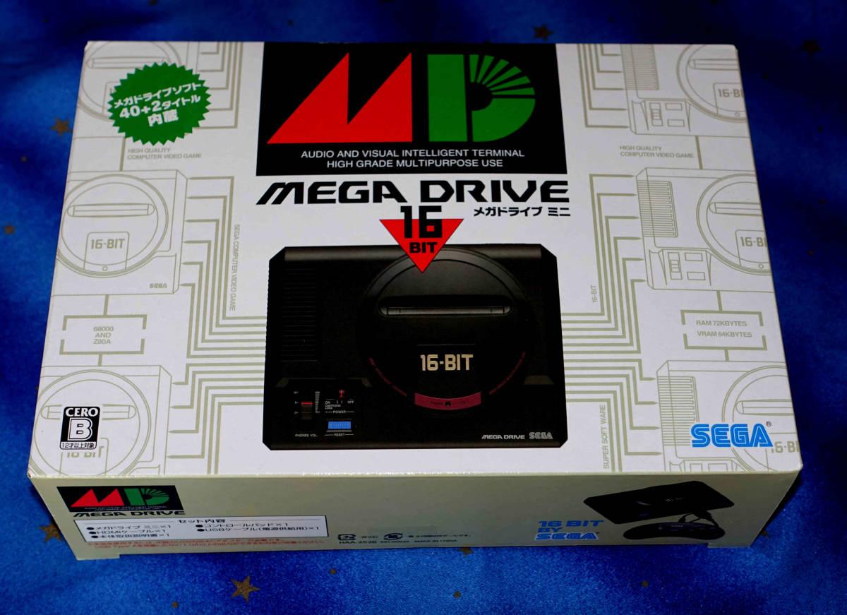 ★SEGA メガドライブ ミニ(Mega Drive mini)★新品同様★