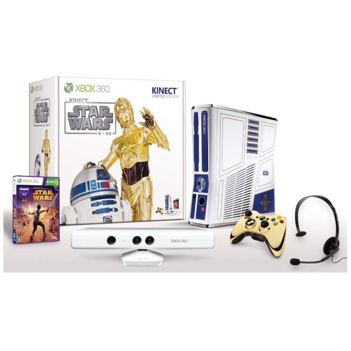 Xbox 360Kinect スター・ウォーズ リミテッド エディション