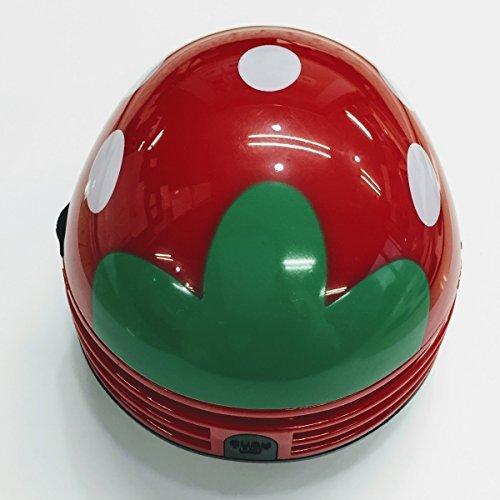【新品】色レッド 卓上 クリーナー 消しゴム クリーナー ハンディ ハンドクリーナー ミニ 苺 いちご 赤 かわいい_画像4