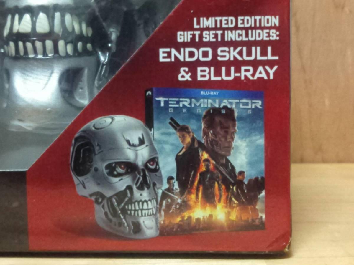 ターミネーター T-800 エンドスカル(新起動 ジェニシス 1/2サイズ ブルーレイオマケ) 検:Terminator Dark Fate エンドスケルトン_商品はブルーレイのオマケフィギュアです