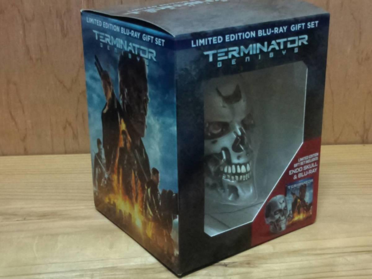 ターミネーター T-800 エンドスカル(新起動 ジェニシス 1/2サイズ ブルーレイオマケ) 検:Terminator Dark Fate エンドスケルトン_箱もカッコいいです♪