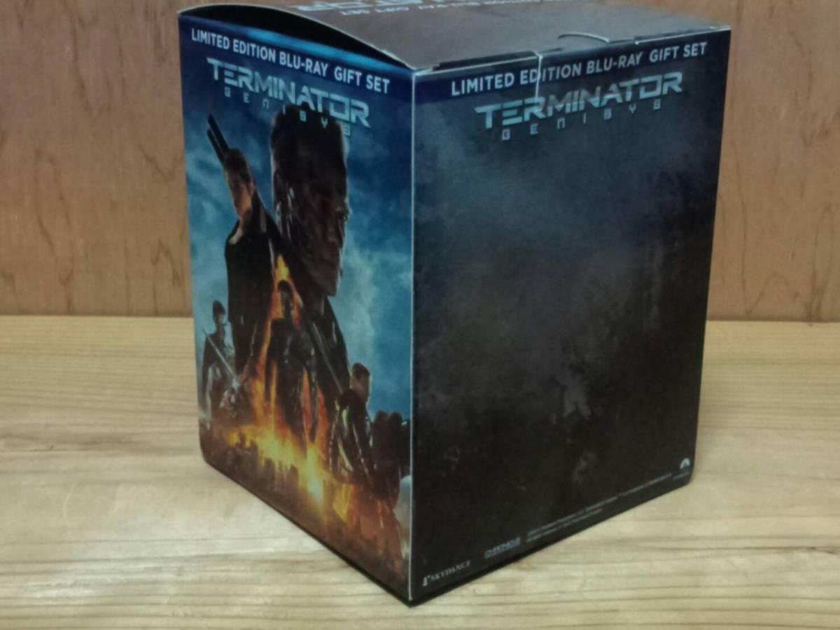 ターミネーター T-800 エンドスカル(新起動 ジェニシス 1/2サイズ ブルーレイオマケ) 検:Terminator Dark Fate エンドスケルトン_箱の後ろ側、タイトル文字のみでセンスいい