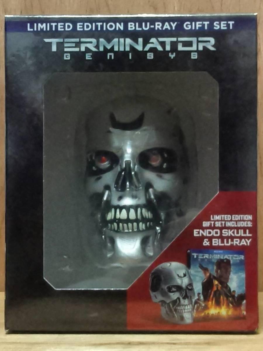 ターミネーター T-800 エンドスカル(新起動 ジェニシス 1/2サイズ ブルーレイオマケ) 検:Terminator Dark Fate エンドスケルトン_未開封品,箱の左下角に少し傷み有り