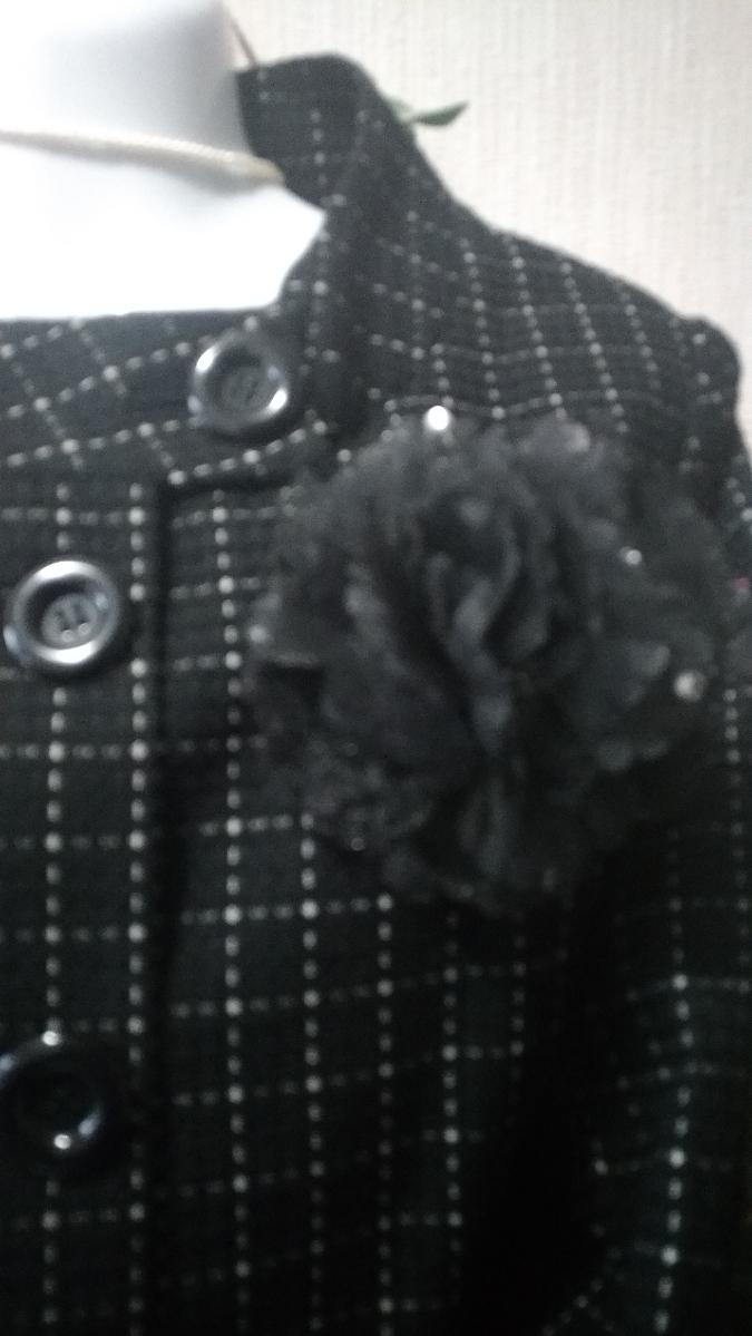 新品同様/大きいサイズ4L17号17ABR/袖スリットにて折り曲げ可能ジャケ&裾両サイドスリット入SKの2点スーツ_画像2