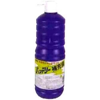 新品 古河薬品工業 KYK  バッテリー補充液 お徳用サイズ  1リッター 20本(1ケース)  01-001_画像1