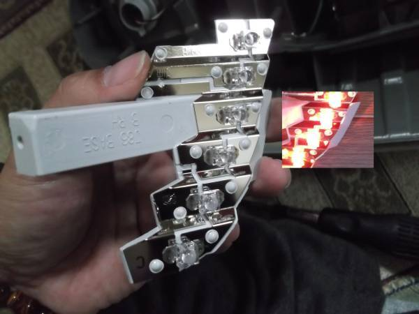 後期ヴォクシー ノア 60 65系 ブレーキランプ LED交換キット_画像3