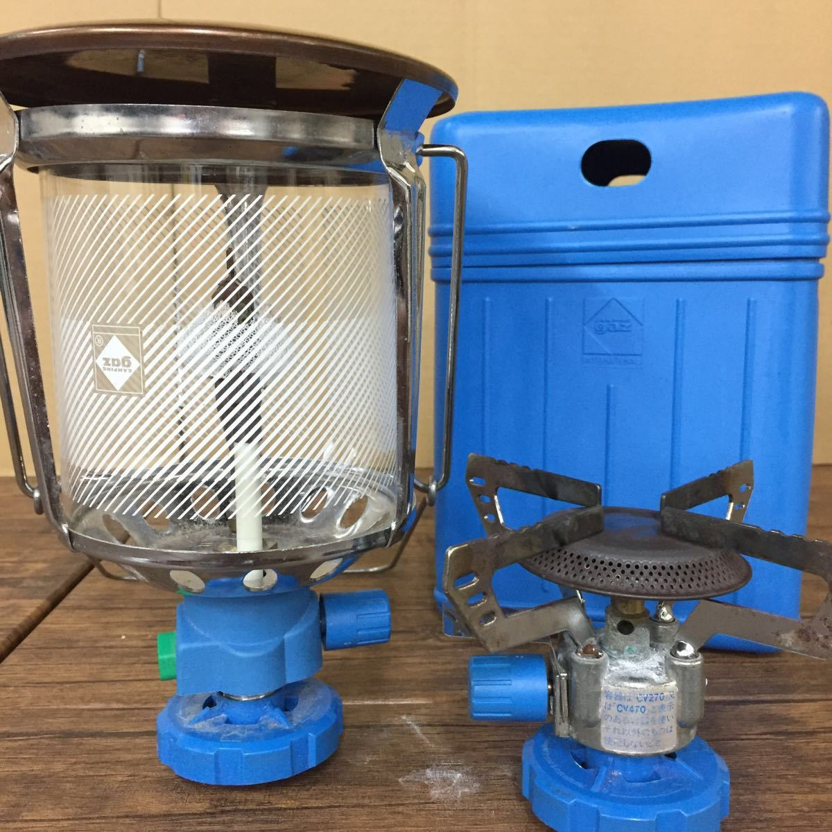 Campingaz straight gas lamp