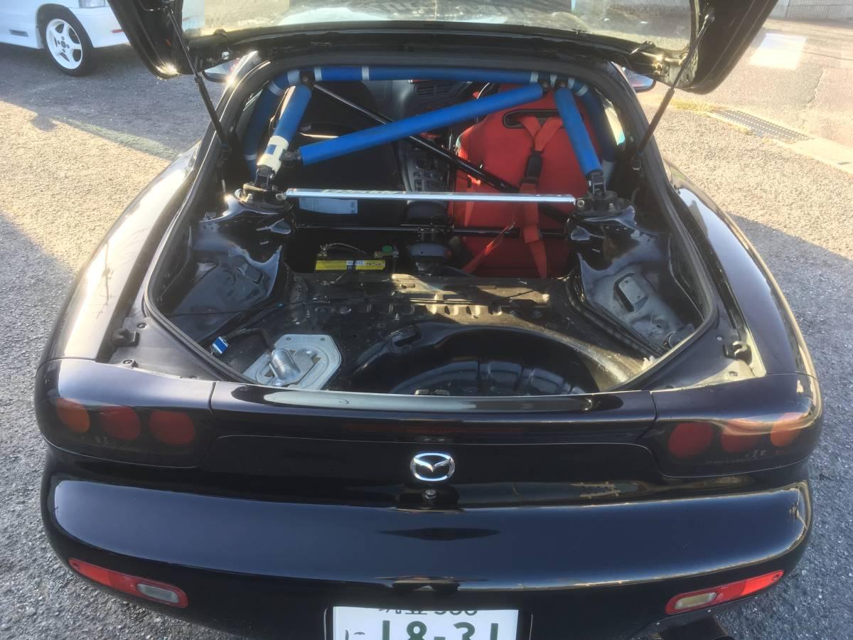 RX-7 FD3S TO4S タービン BigValley サイドポート コンプリートエンジン 500PS Vマウント インタークーラー サーキット GTウイング SSR _画像5