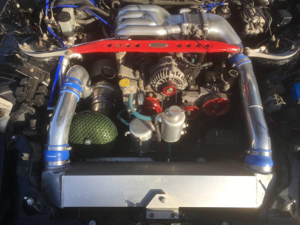 RX-7 FD3S TO4S タービン BigValley サイドポート コンプリートエンジン 500PS Vマウント インタークーラー サーキット GTウイング SSR _画像8