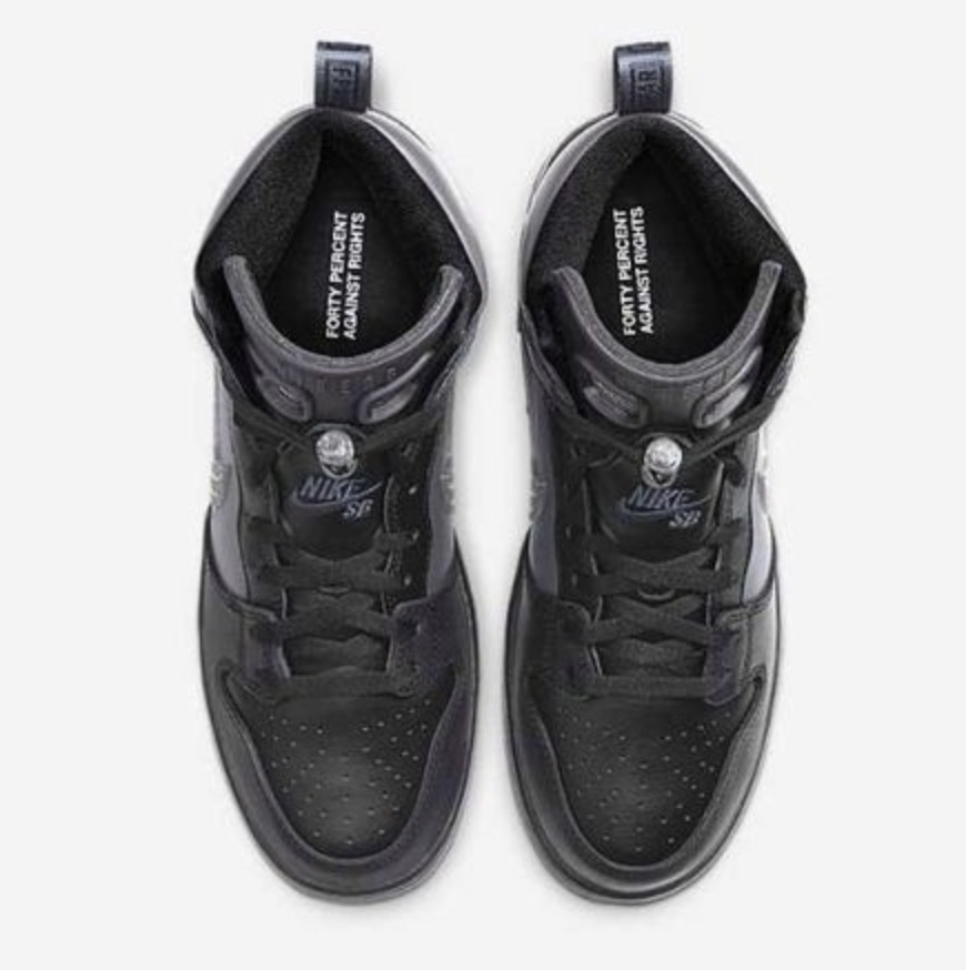 【US10.5/28.5cm】 FPAR x NIKE SB DUNK HIGH PRO PRM QS BV1052-001 WTAPS FORTY PERCENTS AGAINST RIGHTS ダブルタップス ダンク_画像4