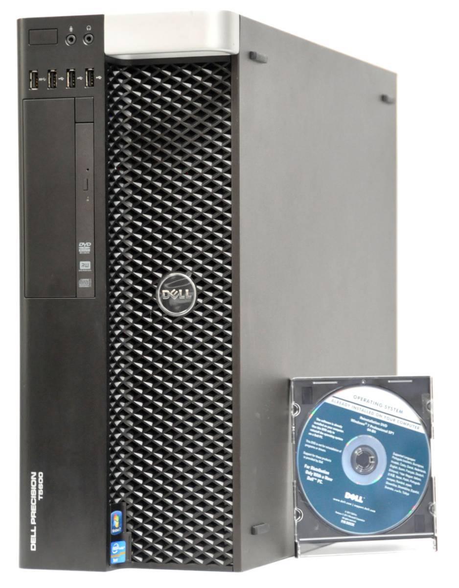 DELL Precision T5600 Xeon E5-2630 2.3GHz / メモリ16GB / 大容量HDD 2TB / NVIDIA GeForce GT635 / マルチ / WIN10Pro64
