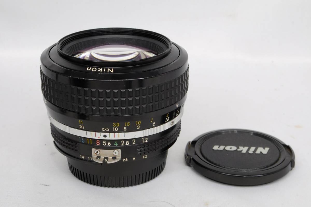 Nikon ニコン Ai Nikkor 50mm F 1.2 単焦点 標準 レンズ 中古 実用向け 訳あり ( F F2 F3 マニュアル フィルム クラシック オールド