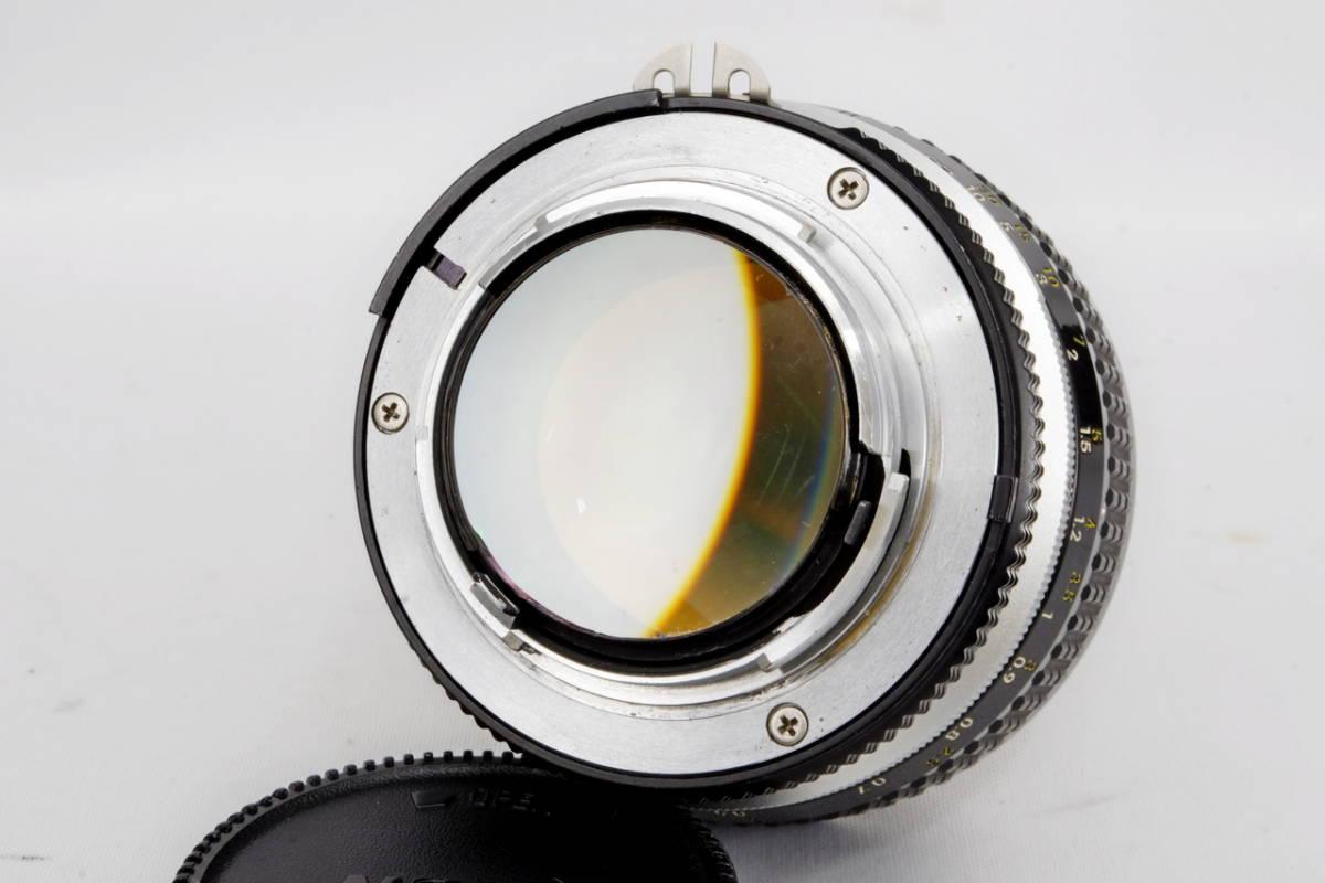 Nikon ニコン Ai Nikkor 50mm F 1.2 単焦点 標準 レンズ 中古 実用向け 訳あり ( F F2 F3 マニュアル フィルム クラシック オールド_画像4