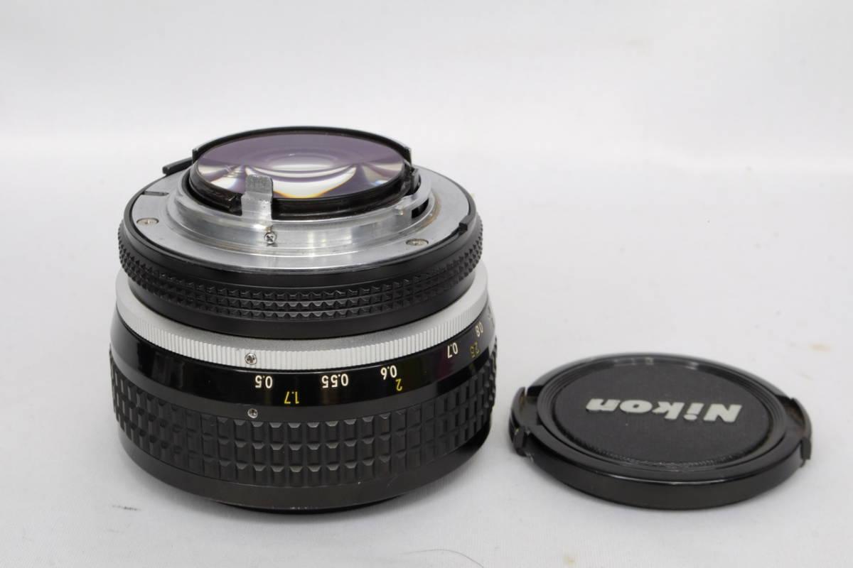 Nikon ニコン Ai Nikkor 50mm F 1.2 単焦点 標準 レンズ 中古 実用向け 訳あり ( F F2 F3 マニュアル フィルム クラシック オールド_画像2