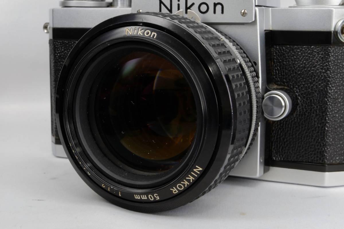 Nikon ニコン Ai Nikkor 50mm F 1.2 単焦点 標準 レンズ 中古 実用向け 訳あり ( F F2 F3 マニュアル フィルム クラシック オールド_画像6