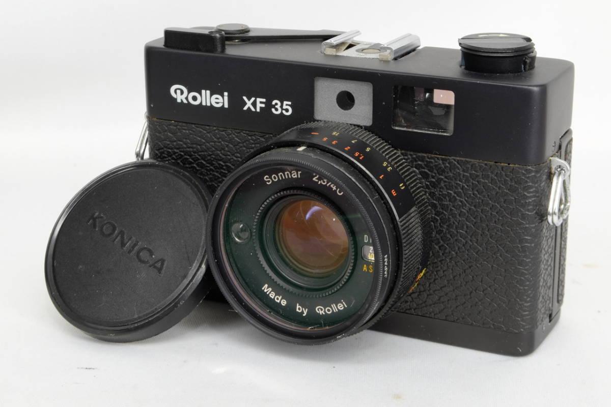 Rollei ローライ コンパクト フィルム カメラ XF35 中古 現状品 ( ローライ35 ローライフレックス コニカC35 ビンテージ オールド