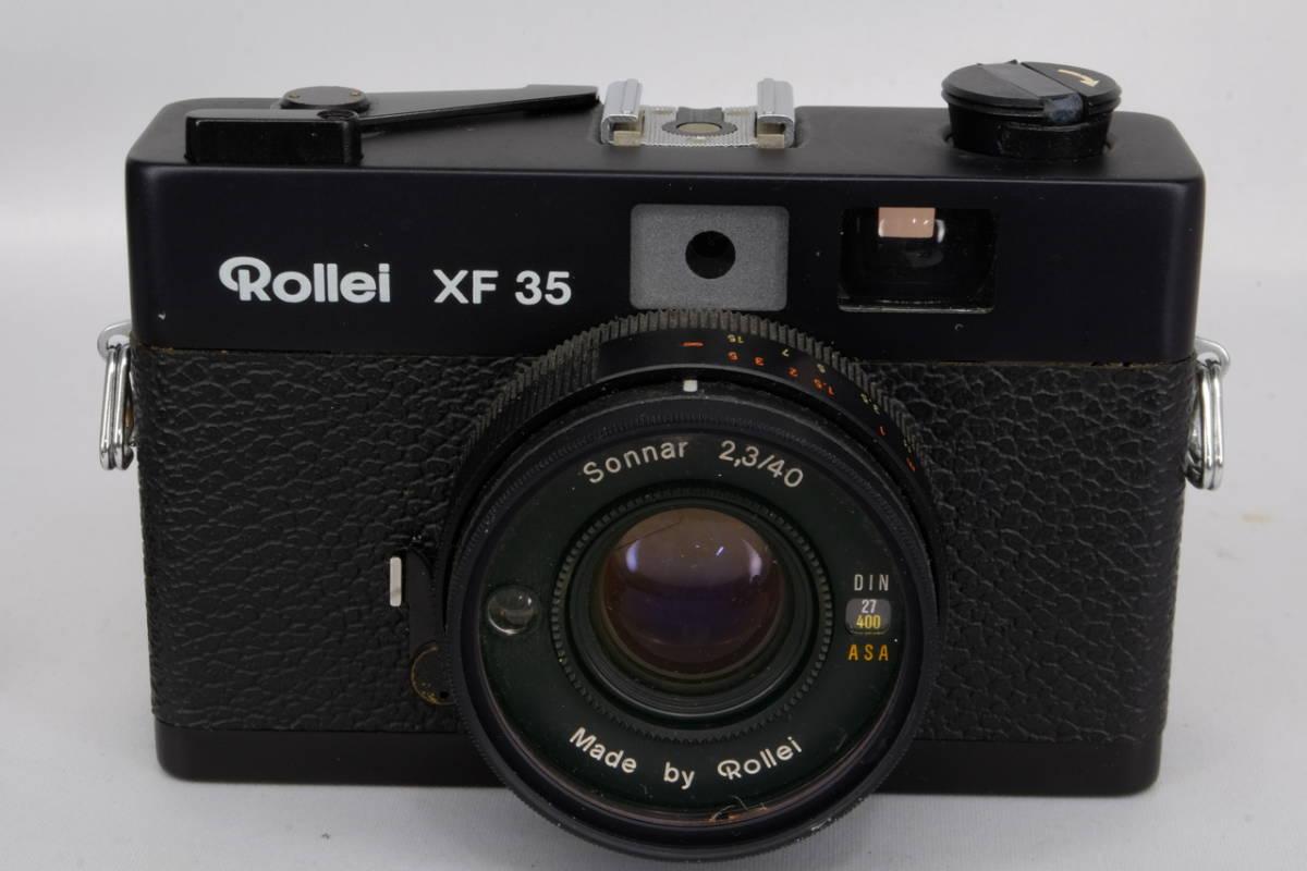 Rollei ローライ コンパクト フィルム カメラ XF35 中古 現状品 ( ローライ35 ローライフレックス コニカC35 ビンテージ オールド_画像5