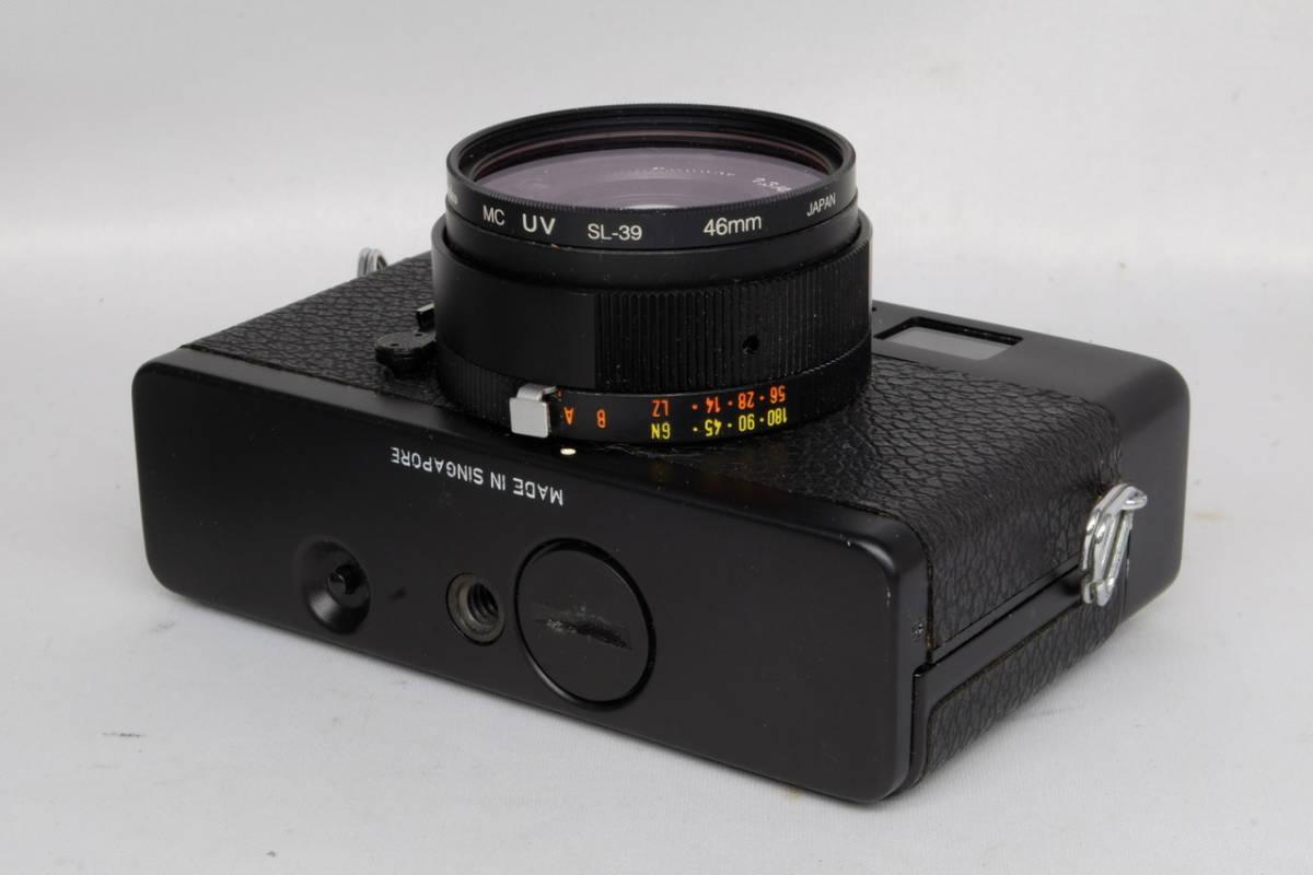 Rollei ローライ コンパクト フィルム カメラ XF35 中古 現状品 ( ローライ35 ローライフレックス コニカC35 ビンテージ オールド_画像4
