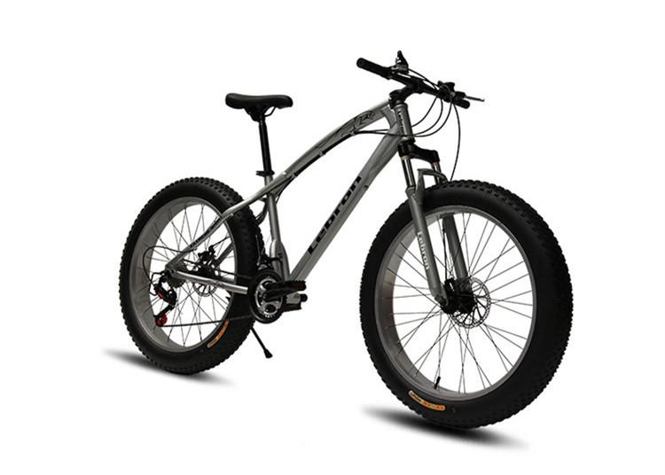 マウンテンバイク ファットバイク【26インチ 24段変速自転車】フルサスペンション ビーチクルーザー6