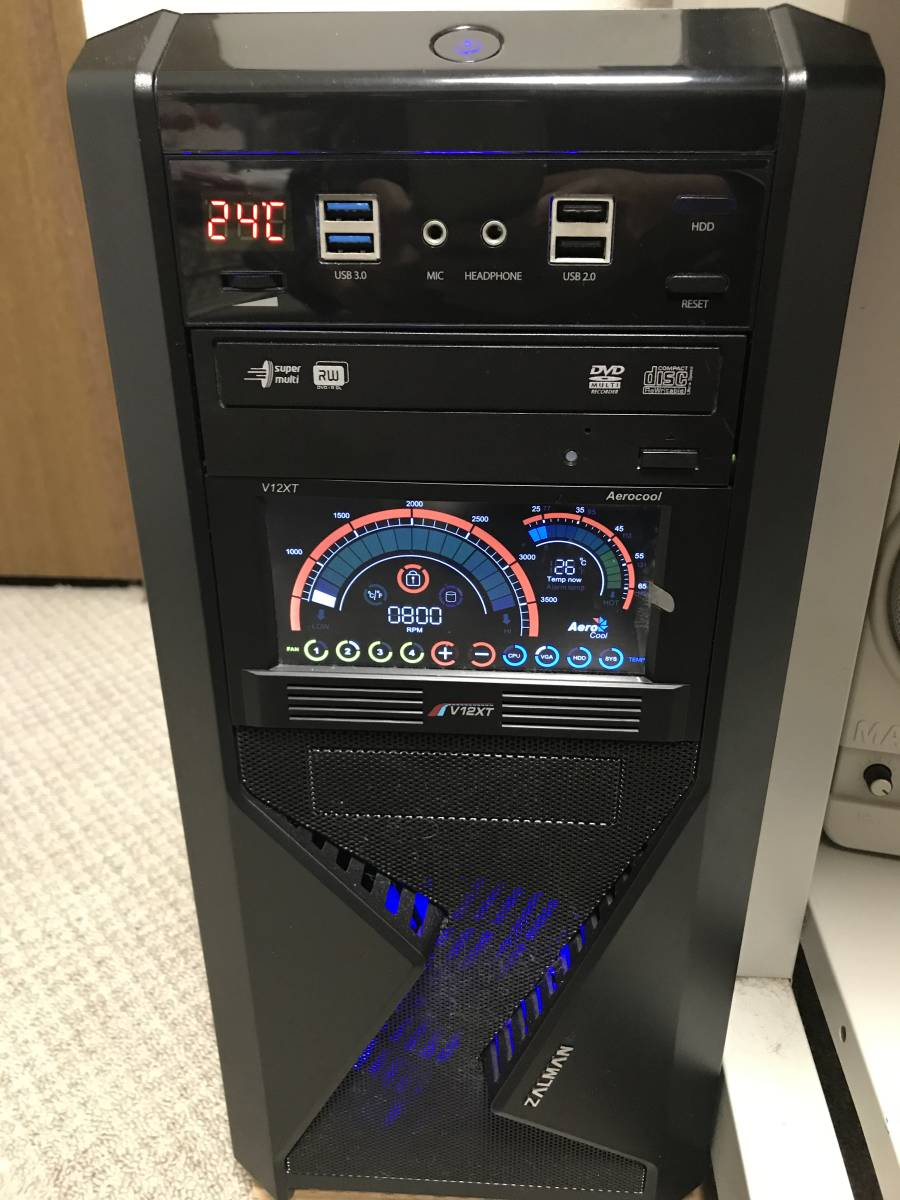 ZALMAN Z9 ASUS H87-PRO Corei7-4770 3.4Ghz Kingston 8Gx2 その他