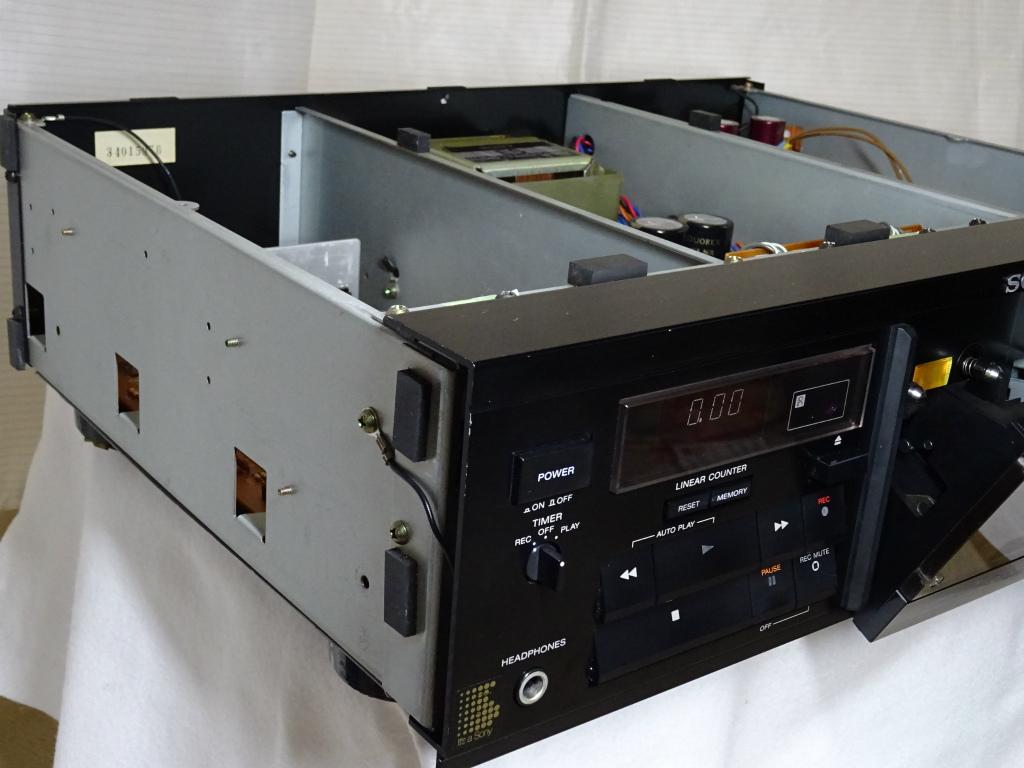 【修理整備品】3ヘッドカセットデッキ SONY TC-K555ESX 完動品_画像7