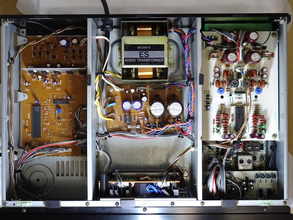 【修理整備品】3ヘッドカセットデッキ SONY TC-K555ESX 完動品_画像8