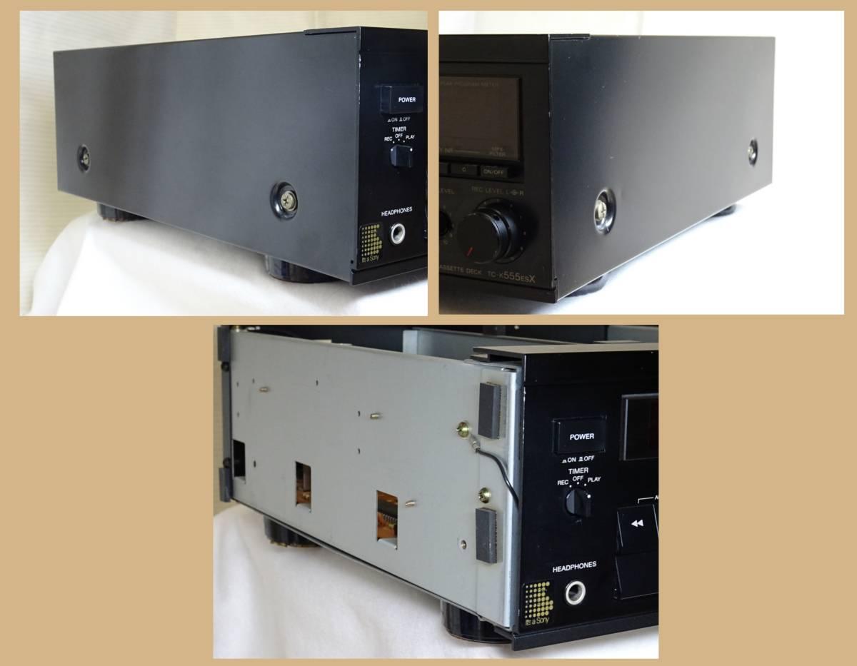 【修理整備品】3ヘッドカセットデッキ SONY TC-K555ESX 完動品_画像4
