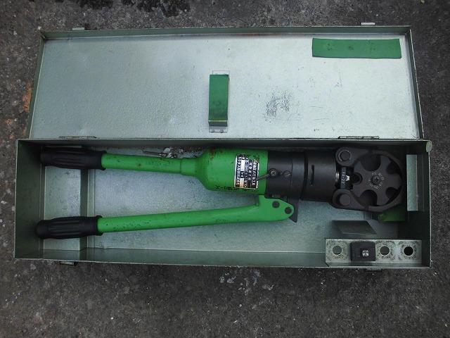 手動油圧式圧着工具 S-150D 産機興業株式会社 used *KS50_画像1
