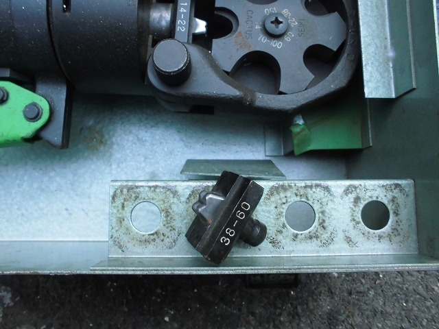手動油圧式圧着工具 S-150D 産機興業株式会社 used *KS50_画像5