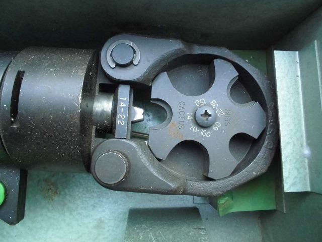 手動油圧式圧着工具 S-150D 産機興業株式会社 used *KS50_画像4