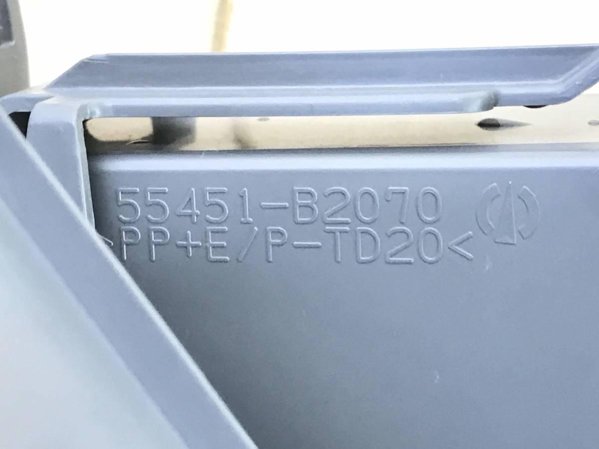 _b17322 ダイハツ ムーヴ Xリミテッド CVT DBA-L175S ステアリング コラムカバー 上下 トリム 48206-B2210 / 55451-B2070 FA10 L185S_画像8