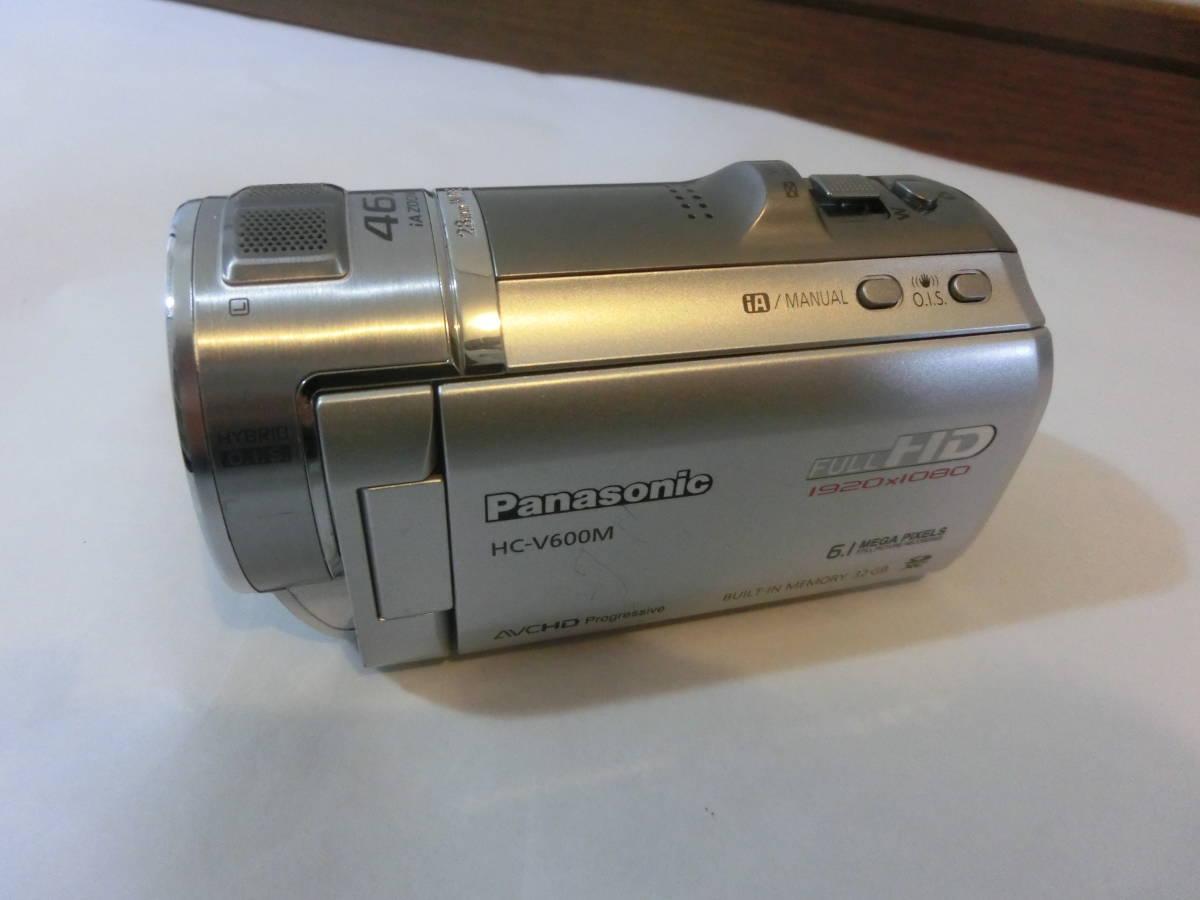 [中古] Panasonic HC-V600M デジタルハイビジョンビデオカメラ_画像2