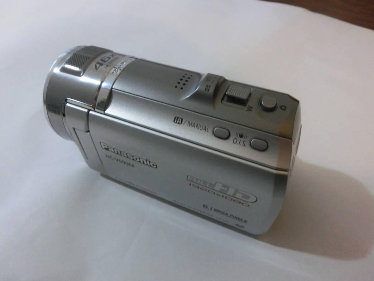 [中古] Panasonic HC-V600M デジタルハイビジョンビデオカメラ_画像5