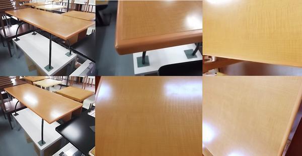 ★ ディスプレイテーブル W180xD70xH70cm 長方形 大型 ヒカリ 業務用 店舗 用品 什器 陳列 ディスプレイ 売り 台 テーブル 中古 ★._画像2
