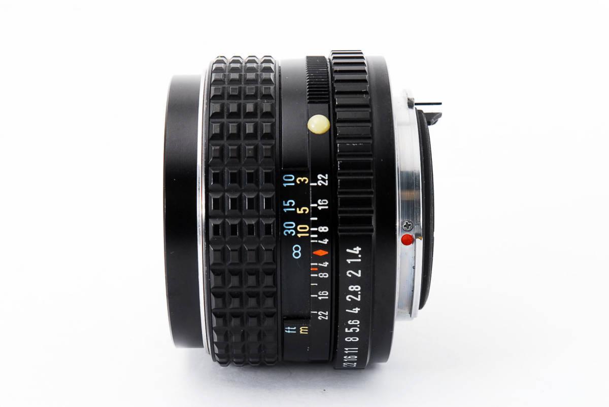 極上品】 PENTAX ペンタックス SMC 50mm F1.4_画像3