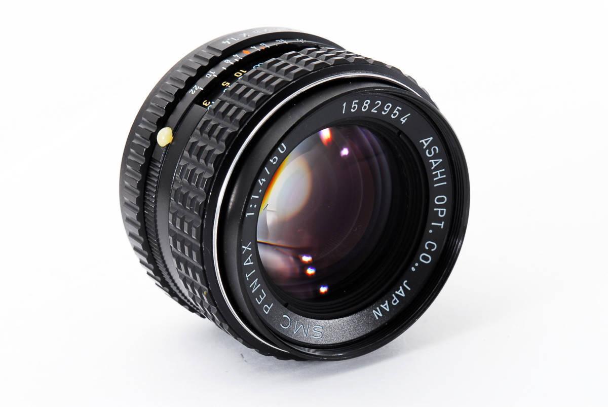 極上品】 PENTAX ペンタックス SMC 50mm F1.4_画像7