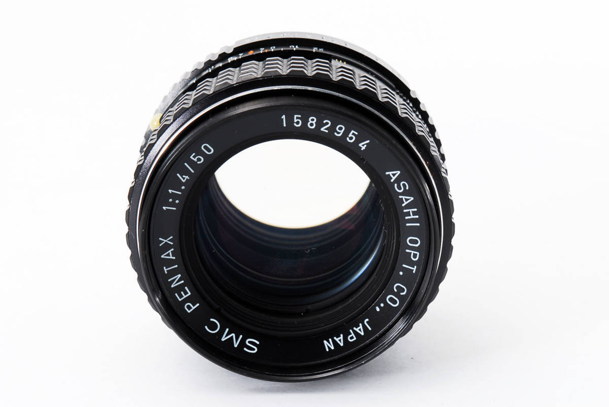 極上品】 PENTAX ペンタックス SMC 50mm F1.4_画像9